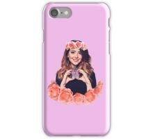 Zoella flower crown iPhone Case/Skin