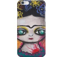 Frida Colors iPhone Case/Skin