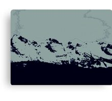 simply mountains Canvas Print