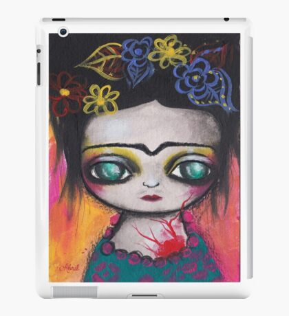 Frida Colors iPad Case/Skin
