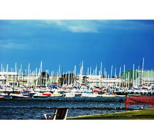 Safe Harbour - City of Williamstown - Along the Strand Photographic Print