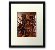 Stack  Framed Print