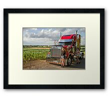 Freightliner  Framed Print