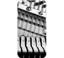 Piano Strings, Hammers & Pegs iPhone Case/Skin