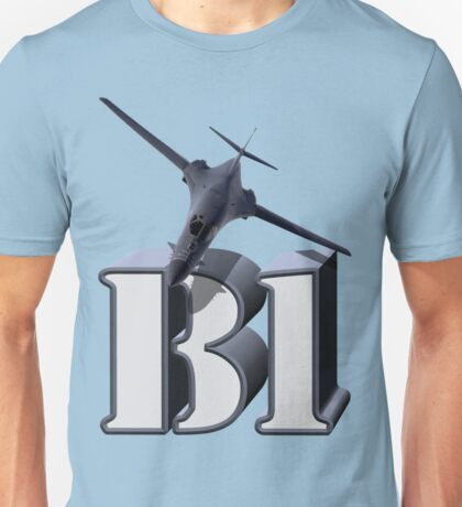 B-1 Lancer Strategic Bomber Unisex T-Shirt