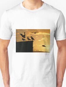 6 birds Unisex T-Shirt