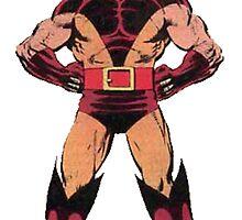 Wolverine (Red) by ProjectMayhem