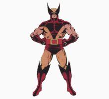 Wolverine (Red) One Piece - Short Sleeve