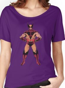 Wolverine (Red) Women's Relaxed Fit T-Shirt