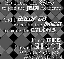 ALL the Fandoms by Amanda Mayer