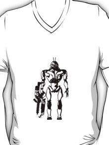 Prawn Soldier - black T-Shirt