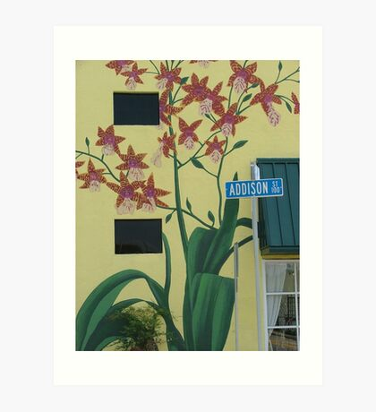 Addison Street Art Print