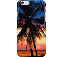SUNSET,KEY BISCAYNE iPhone Case/Skin