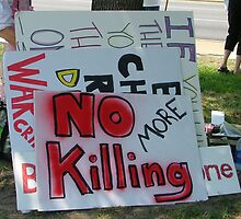 No More Killing by Lesley Rosenberg