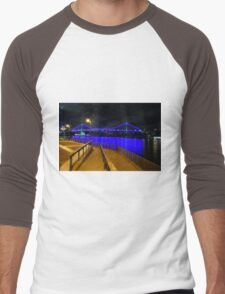 The Story Bridge sparkling Men's Baseball ¾ T-Shirt