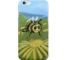 Bumblebee in field iPhone Case/Skin