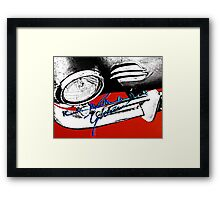 K-G Low Light Framed Print