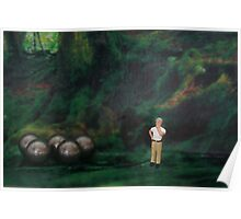 Oliver thought he was hopelessly lost in the forest, then suddenly he found his bearings. Poster