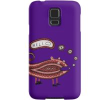 Paisley Chameleon says Hello Samsung Galaxy Case/Skin
