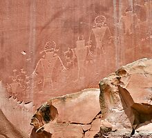 Capitol Reef Petroglyphs by Bryan Peterson