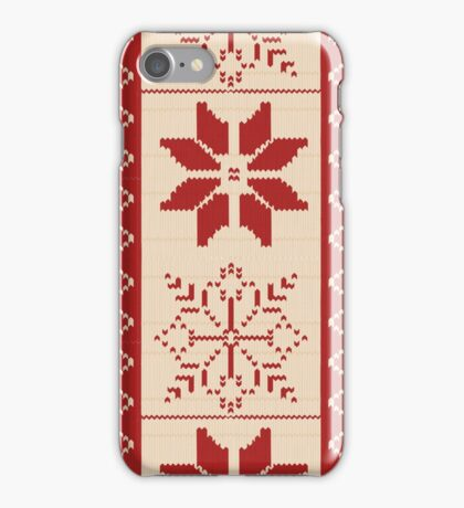 Christmas Sweater  iPhone Case/Skin