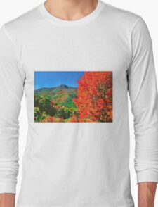 AUTUMN,BLUE RIDGE PARKWAY Long Sleeve T-Shirt