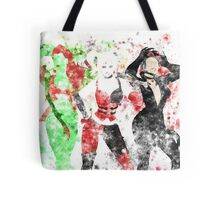 SuperVillain Trinity Splatter Graphic Tote Bag