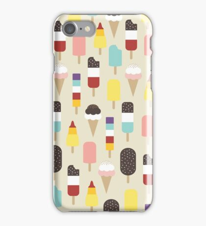 Ice Lollies & Frozen Treats iPhone Case/Skin