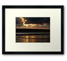 daymerbay cornwall Framed Print