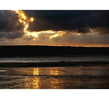 daymerbay cornwall Photographic Print