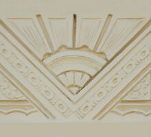Art Deco Style Relief by Christopher Biggs