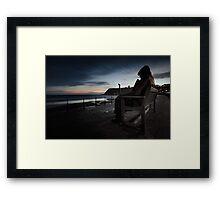 Freddie Gilfroy - Scarborough North Bay Framed Print