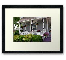 Precious Porch Framed Print