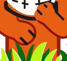 Duck Hunt game loser Sticker