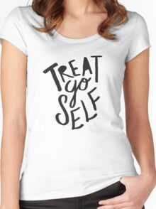 Treat Yo Self II Women's Fitted Scoop T-Shirt