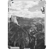 Half Dome from Glacier Point 1 iPad Case/Skin