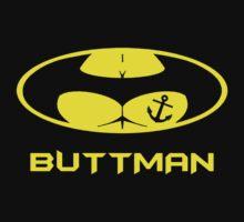 The Buttman Anchor Tatoo  One Piece - Short Sleeve