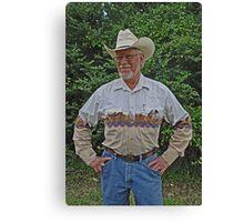 """""""Cowboy Pops"""" Canvas Print"""