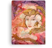 Lady Cnidaria Canvas Print