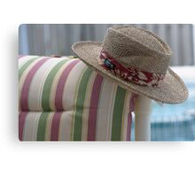 Wherever I lay my hat . . . . Canvas Print