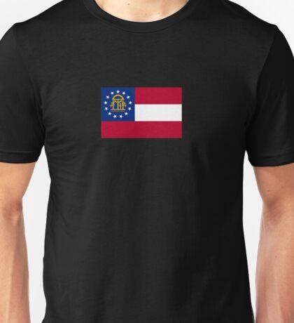 Georgia USA State Atlanta Flag Bedspread T-Shirt Sticker Unisex T-Shirt