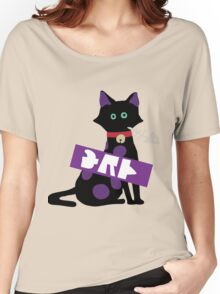 Splatoon SquidForce Splatfest Cat Tee Women's Relaxed Fit T-Shirt