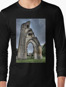 The Past Remains HDR Long Sleeve T-Shirt