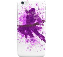 Hawkeye Splatter Graphic iPhone Case/Skin