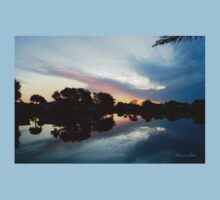 Tropical Sky ~ Lake Reflection Kids Clothes