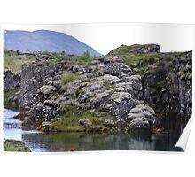 Þingvellir Riverbank  Poster
