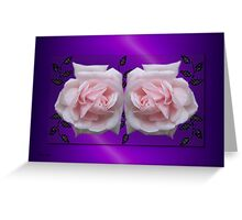 Gentle Touch .. Enchanting Roses Greeting Card