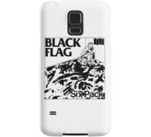 Black flag- Six pack Samsung Galaxy Case/Skin