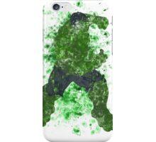Hulk Splatter Graphic iPhone Case/Skin
