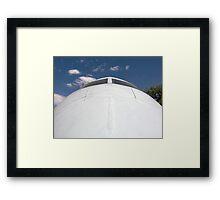 Aircraft Nose 2 Framed Print